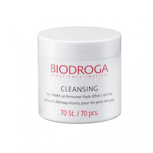 eye makeup remover pads oil free biodroga