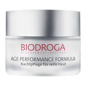 age performance night care dry skin biodroga