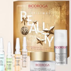 advent calendar biodroga skin care christmas