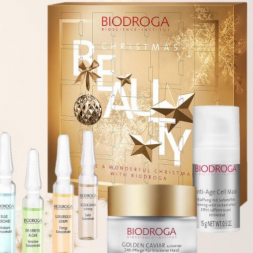 advent calendar biodroga skin care christmas